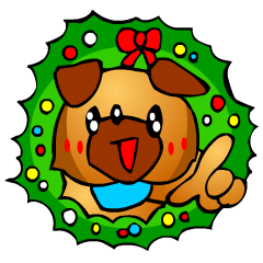Pug The Dog (Christmas)