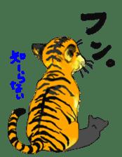 i am higth pride tiger sticker #3009744