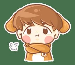 Baby 'B' sticker #3011053