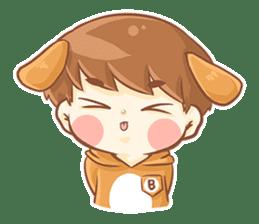 Baby 'B' sticker #3011055
