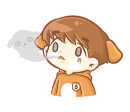 Baby 'B' sticker #3011058