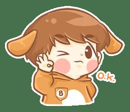 Baby 'B' sticker #3011059