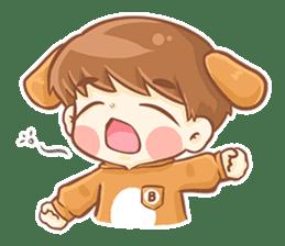 Baby 'B' sticker #3011064