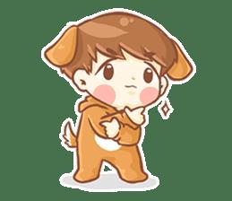 Baby 'B' sticker #3011073