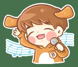 Baby 'B' sticker #3011074