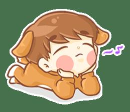 Baby 'B' sticker #3011076