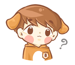 Baby 'B' sticker #3011078