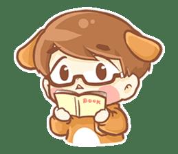 Baby 'B' sticker #3011082