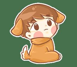 Baby 'B' sticker #3011090