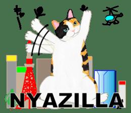 Calico cat's Diary sticker #3012054