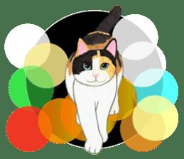 Calico cat's Diary sticker #3012061