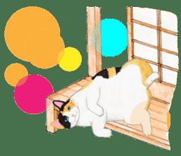 Calico cat's Diary sticker #3012066
