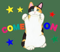 Calico cat's Diary sticker #3012074
