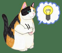 Calico cat's Diary sticker #3012081