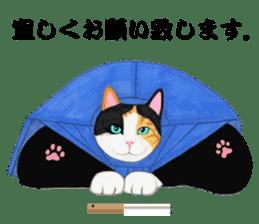 Calico cat's Diary sticker #3012087