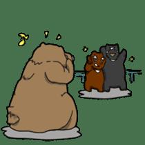 My favarite three bears sticker #3014215