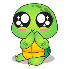 Pura, the funny turtle, version 2