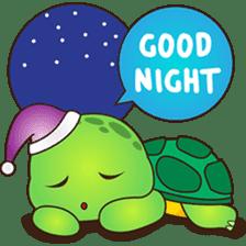 Pura, the funny turtle, version 2 sticker #3014698
