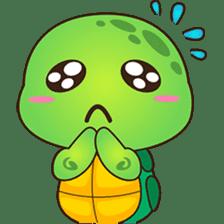 Pura, the funny turtle, version 2 sticker #3014701