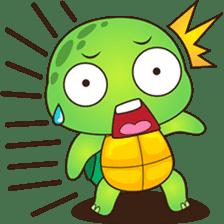 Pura, the funny turtle, version 2 sticker #3014704