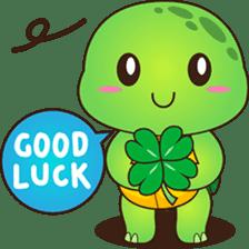 Pura, the funny turtle, version 2 sticker #3014706