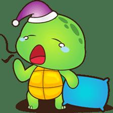 Pura, the funny turtle, version 2 sticker #3014707