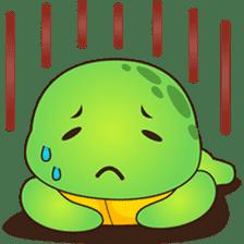 Pura, the funny turtle, version 2 sticker #3014712