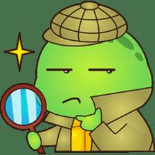 Pura, the funny turtle, version 2 sticker #3014715