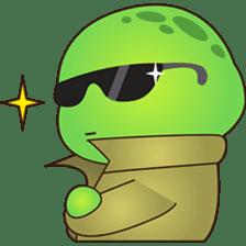 Pura, the funny turtle, version 2 sticker #3014722