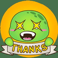 Pura, the funny turtle, version 2 sticker #3014726