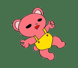Kawaii PINK  BEAR sticker #3017213