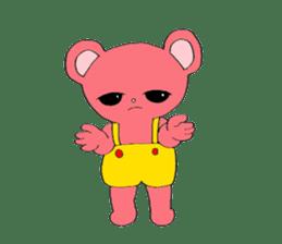 Kawaii PINK  BEAR sticker #3017216