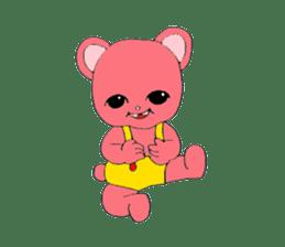 Kawaii PINK  BEAR sticker #3017218