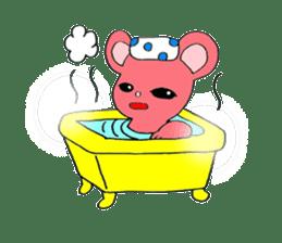 Kawaii PINK  BEAR sticker #3017237