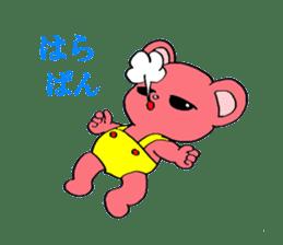 Kawaii PINK  BEAR sticker #3017239