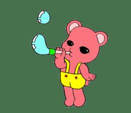 Kawaii PINK  BEAR sticker #3017247