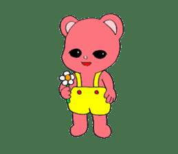 Kawaii PINK  BEAR sticker #3017250