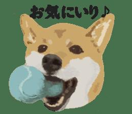 Life with Shiba-Inu sticker #3022854