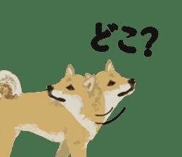 Life with Shiba-Inu sticker #3022856