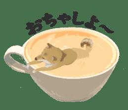 Life with Shiba-Inu sticker #3022861