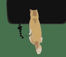 Life with Shiba-Inu sticker #3022882