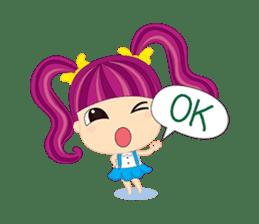 Online Shoping Girl sticker #3027605