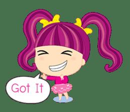 Online Shoping Girl sticker #3027610