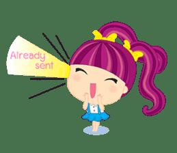 Online Shoping Girl sticker #3027613