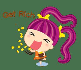 Online Shoping Girl sticker #3027617