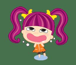 Online Shoping Girl sticker #3027633