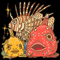 Scuba Divers Loves Fish Under the Sea!