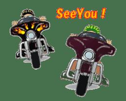 I LOVE American Motorcycle!!  Ver.2 sticker #3042946