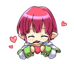 Children's Elf sticker #3049511