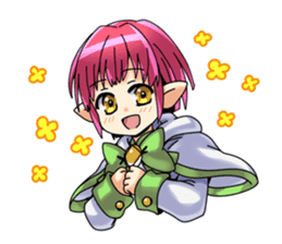 Children's Elf sticker #3049515
